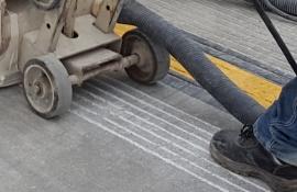 grooving concrete